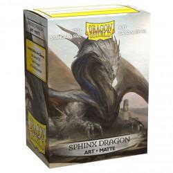 Dragon Shield - Art 100 Sleeves - Sphinx Dragon