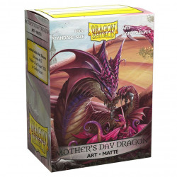 Dragon Shield - Art 100 Sleeves - Mother's Day Dragon