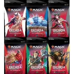 Ikoria : la terre des béhémoths - Set Boosters Thématiques (5 Boosters)