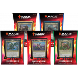 Commander 2020 (Ikoria) - Set (5 Decks)