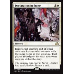 Déclaration dans la pierre
