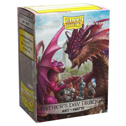 Dragon Shield - Art 100 Sleeves - Father's Day Dragon