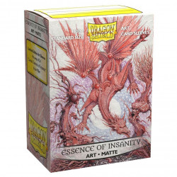 Dragon Shield - Art 100 Sleeves - Essence of Insanity