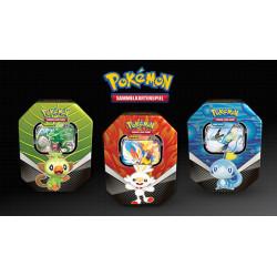 Pokemon - Scatola da collezione Compagni d'avventura di Galar - Set (Rillaboom-V + Cinderace-V + Inteleon-V) - SLIGHTLY DAMAGED