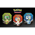 Pokemon - Galar Partners Tin - Set (Rillaboom V + Cinderace V + Inteleon V) - SLIGHTLY DAMAGED