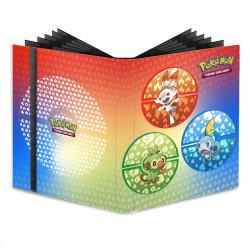 Ultra Pro - Pokémon 9-Pocket PRO-Binder - Galar Starters