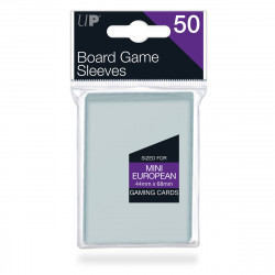 Ultra Pro - Board Game Sleeves - Mini European (44mm x 68mm)