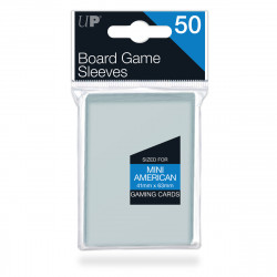 Ultra Pro - Board Game Sleeves - Mini American (41mm x 63mm)