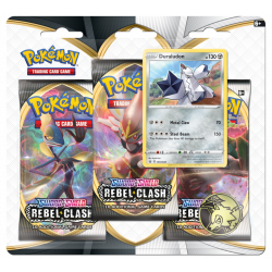 Pokemon - SWSH2 Clash der Rebellen - 3-Pack Blister - Duraludon