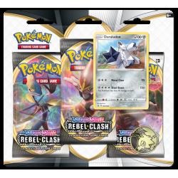 Pokemon - SWSH2 Clash des Rebelles - Tripack - Duraludon