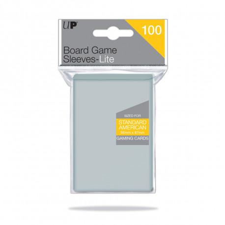 Ultra Pro - Lite Board Game Sleeves - Standard American (56mm x 87mm)