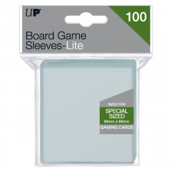 Ultra Pro - Lite Board Game Sleeves - Square (69mm x 69mm)