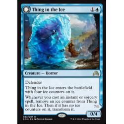 Spécimen pris dans la glace / Horreur éveillée