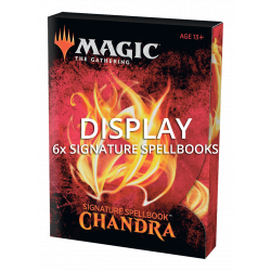 Signature Spellbook Display (6x) - Chandra
