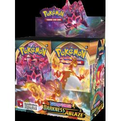 Pokemon - SWSH3 Ténèbres Embrasées - Boîte de Boosters (36 Boosters)