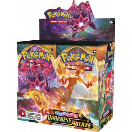 Pokemon - SWSH3 Darkness Ablaze - Booster Display (36 Boosters)