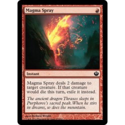 Spruzzo di Magma