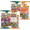 Pokemon - SWSH3 Darkness Ablaze - 3-Pack Blister Bundle