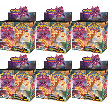 Pokemon - SWSH3 Darkness Ablaze - Booster Display (36 Boosters)
