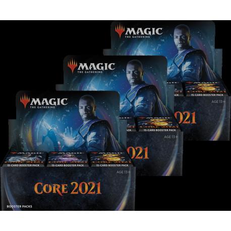 Core Set 2021 - 3x Booster Box