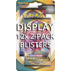 Pokemon - SWSH3 Fiamme Oscure - 2-Pack Blister Display