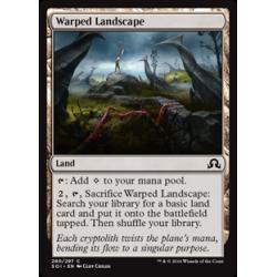 Warped Landscape