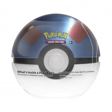 Pokemon - Fall 2020 Poké Ball Tin - Great Ball
