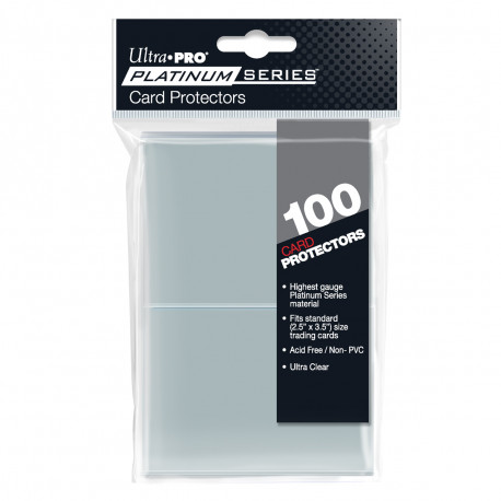 Ultra Pro - Platinum Series Card Protectors (100 Sleeves)