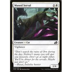 Maned Serval