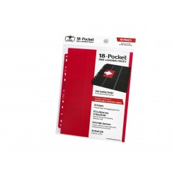 Ultimate Guard - 18-Pocket Side-Loading Pages - Pick your color