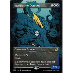 Sea-Dasher Octopus (Borderless)