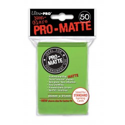 Ultra Pro - Pro-Matte Standard 50 Sleeves - Lime Green