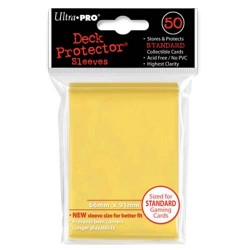 Ultra Pro - Standard Deck Protectors 50ct Sleeves - Yellow
