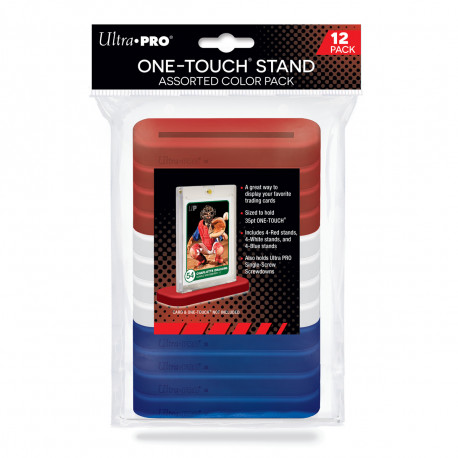 Ultra Pro - ONE-TOUCH Stand 35pt - Assorted Color (12x)