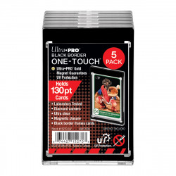 Ultra Pro - ONE-TOUCH Magnetic Holder 130PT - Black Border (5x)