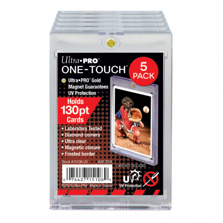 Ultra Pro - ONE-TOUCH Magnetic Holder 130PT - Retail Pack (5x)