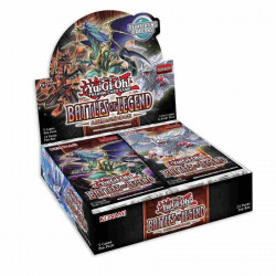 Yu-Gi-Oh! - Battles of Legend: Armageddon - Booster Display