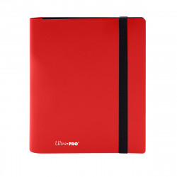 Ultra Pro - Eclipse 4-Pocket PRO-Binder - Apple Red