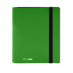 Ultra Pro - Eclipse 4-Pocket PRO-Binder - Lime Green