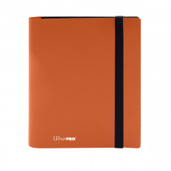 Ultra Pro - Eclipse 4-Pocket PRO-Binder - Pumpkin Orange