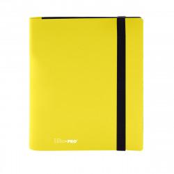 Ultra Pro - Eclipse 4-Pocket PRO-Binder - Lemon Yellow
