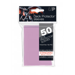 Ultra Pro - Standard 50 Sleeves - Bright Pink