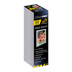 Ultra Pro - UV Mini Snap Card Holder - Retail Pack (50x)
