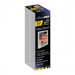 Ultra Pro - UV Mini Snap Card Holder - Retail Pack (50x) - SLIGHTLY DAMAGED