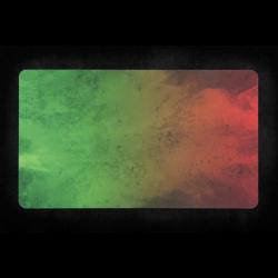 Kraken Wargames - Playmat - Green Red Splash