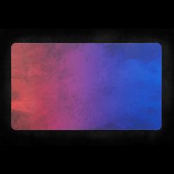 Kraken Wargames - Playmat - Red Blue Splash