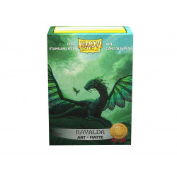 Dragon Shield - Art 100 Sleeves - Rayalda