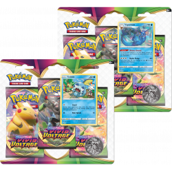 Pokemon - SWSH4 Vivid Voltage - 3-Pack Blister Bundle
