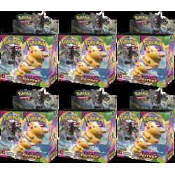 Pokemon - SWSH4 Vivid Voltage - Carton de Boosters (6 Boîtes)