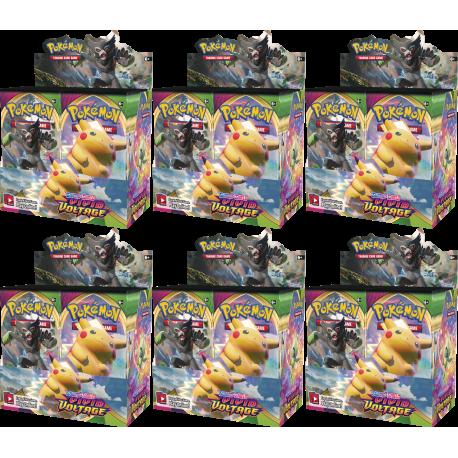 Pokemon - SWSH4 Vivid Voltage - Booster Case (6 Displays)